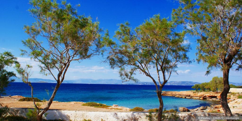Saronischen Inseln – die türkisfarbene Küste